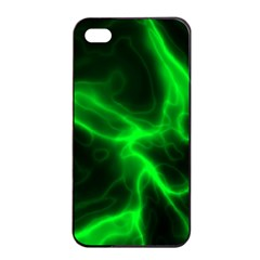 Cosmic Energy Green Apple iPhone 4/4s Seamless Case (Black)