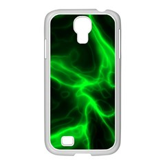 Cosmic Energy Green Samsung Galaxy S4 I9500/ I9505 Case (white)