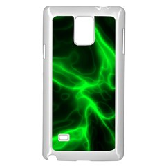 Cosmic Energy Green Samsung Galaxy Note 4 Case (White)