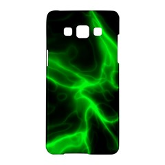 Cosmic Energy Green Samsung Galaxy A5 Hardshell Case