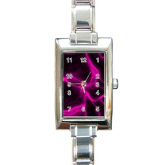 Cosmic Energy Pink Rectangle Italian Charm Watches