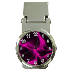 Cosmic Energy Pink Money Clip Watches