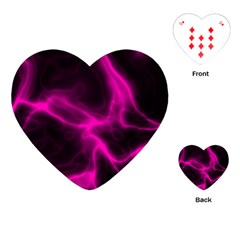 Cosmic Energy Pink Playing Cards (Heart)