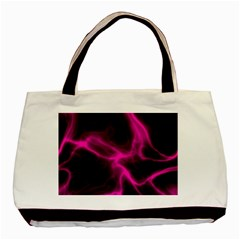 Cosmic Energy Pink Basic Tote Bag