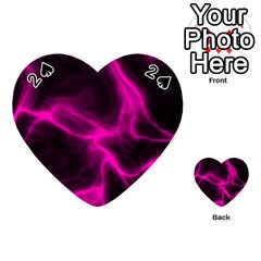 Cosmic Energy Pink Playing Cards 54 (Heart)