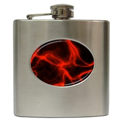 Cosmic Energy Red Hip Flask (6 Oz)