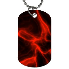 Cosmic Energy Red Dog Tag (Two Sides)