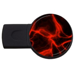 Cosmic Energy Red USB Flash Drive Round (4 GB)