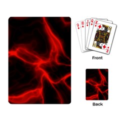 Cosmic Energy Red Playing Card