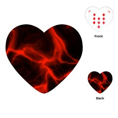 Cosmic Energy Red Playing Cards (heart)