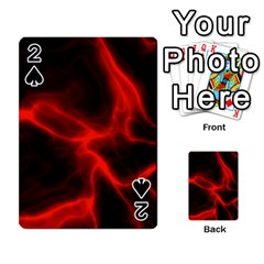 Cosmic Energy Red Playing Cards 54 Designs