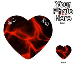 Cosmic Energy Red Playing Cards 54 (Heart)