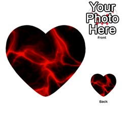 Cosmic Energy Red Multi Purpose Cards (heart)