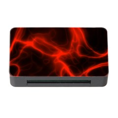 Cosmic Energy Red Memory Card Reader with CF