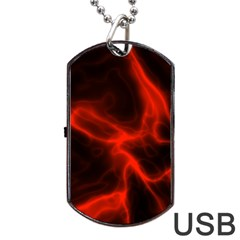 Cosmic Energy Red Dog Tag USB Flash (Two Sides)