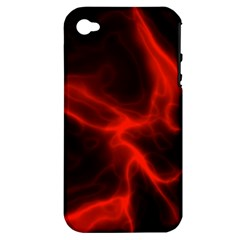 Cosmic Energy Red Apple iPhone 4/4S Hardshell Case (PC+Silicone)