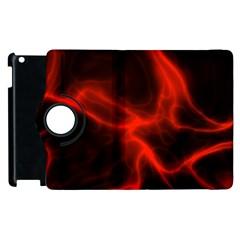 Cosmic Energy Red Apple Ipad 2 Flip 360 Case