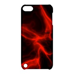Cosmic Energy Red Apple iPod Touch 5 Hardshell Case with Stand