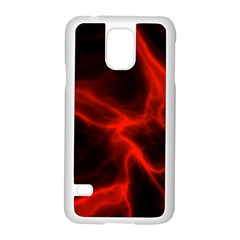Cosmic Energy Red Samsung Galaxy S5 Case (White)