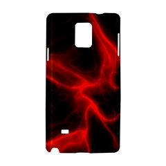 Cosmic Energy Red Samsung Galaxy Note 4 Hardshell Case