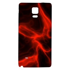 Cosmic Energy Red Galaxy Note 4 Back Case