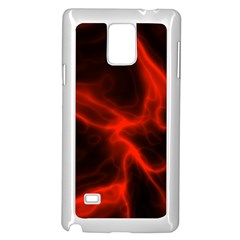 Cosmic Energy Red Samsung Galaxy Note 4 Case (White)