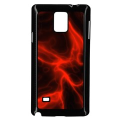 Cosmic Energy Red Samsung Galaxy Note 4 Case (Black)