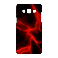 Cosmic Energy Red Samsung Galaxy A5 Hardshell Case