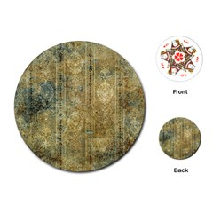Beautiful  Decorative Vintage Design Playing Cards (Round)
