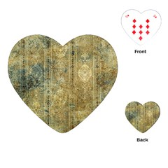 Beautiful  Decorative Vintage Design Playing Cards (Heart)