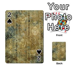 Beautiful  Decorative Vintage Design Playing Cards 54 Designs