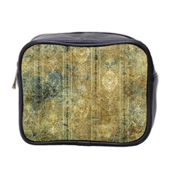 Beautiful  Decorative Vintage Design Mini Toiletries Bag 2-Side