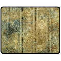 Beautiful  Decorative Vintage Design Fleece Blanket (medium)