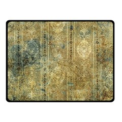 Beautiful  Decorative Vintage Design Fleece Blanket (Small)