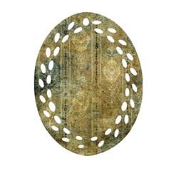 Beautiful  Decorative Vintage Design Ornament (oval Filigree)