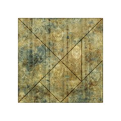 Beautiful  Decorative Vintage Design Acrylic Tangram Puzzle (4  x 4 )