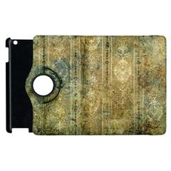 Beautiful  Decorative Vintage Design Apple iPad 2 Flip 360 Case