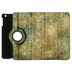 Beautiful  Decorative Vintage Design Apple iPad Mini Flip 360 Case