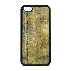 Beautiful  Decorative Vintage Design Apple iPhone 5C Seamless Case (Black)
