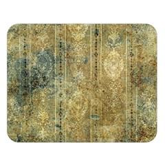 Beautiful  Decorative Vintage Design Double Sided Flano Blanket (large)