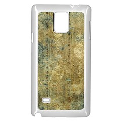 Beautiful  Decorative Vintage Design Samsung Galaxy Note 4 Case (White)