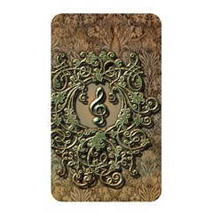 Elegant Clef With Floral Elements On A Background With Damasks Memory Card Reader