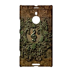 Elegant Clef With Floral Elements On A Background With Damasks Nokia Lumia 1520
