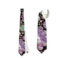 Sweet Allover 3d Flowers Neckties (One Side)