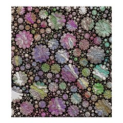 Sweet Allover 3d Flowers Shower Curtain 66  x 72  (Large)