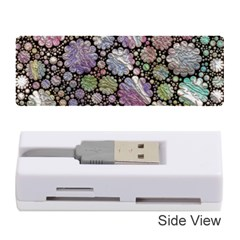 Sweet Allover 3d Flowers Memory Card Reader (Stick)