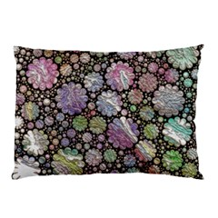 Sweet Allover 3d Flowers Pillow Cases (two Sides)
