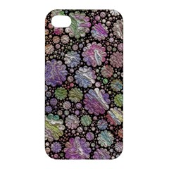 Sweet Allover 3d Flowers Apple iPhone 4/4S Hardshell Case