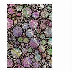 Sweet Allover 3d Flowers Small Garden Flag (two Sides)