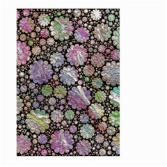 Sweet Allover 3d Flowers Large Garden Flag (Two Sides)
